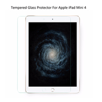 Super Anti Scratch Tempered Glass Protector Ultra Thin Touch Protection Film For Apple IPad Mini 4