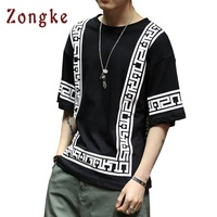 2018 New Chinese National Style T Shirt Men Half Sleeve Tshirt Mens T Shirt Camisetas Hombre