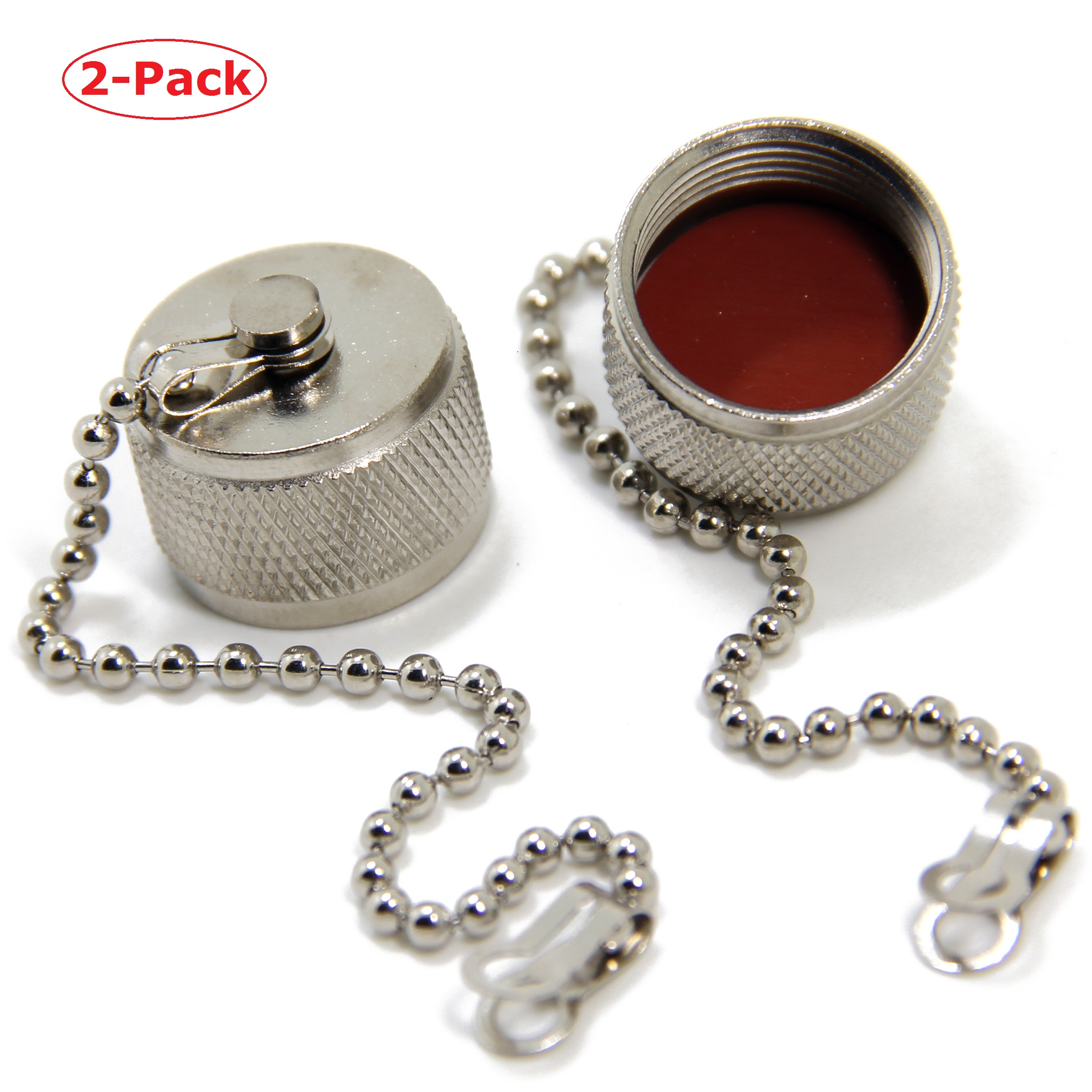 1PC Dust Cap Protection Cover With Chain For N Female or UHF SO239 RF Connector