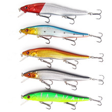 2018 Hot Sell 14cm/23g Plastic Hard Bait 5 Colors Multi-style Fishing lure New Bionic Fake Minnow Topwater