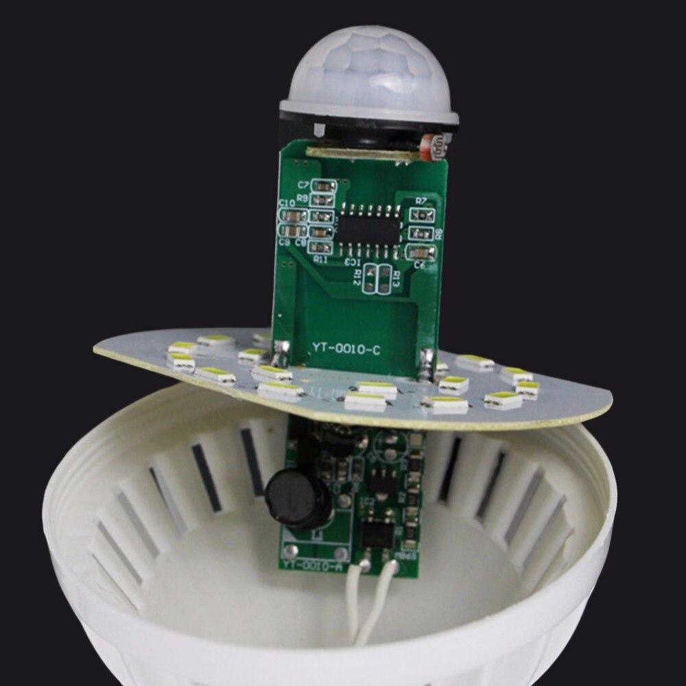 Lâmpadas Led e Tubos e27/b22 led pir sensor de Voltage : 85-265v