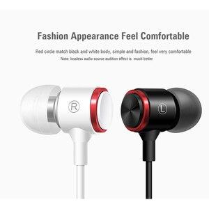 Image 4 - DUSZAKE X7 słuchawki Stereo dla Xiaomi słuchawki na telefon przewodowy dla Xiaomi słuchawki w ucho Sport słuchawki Mic dla Samsung telefon