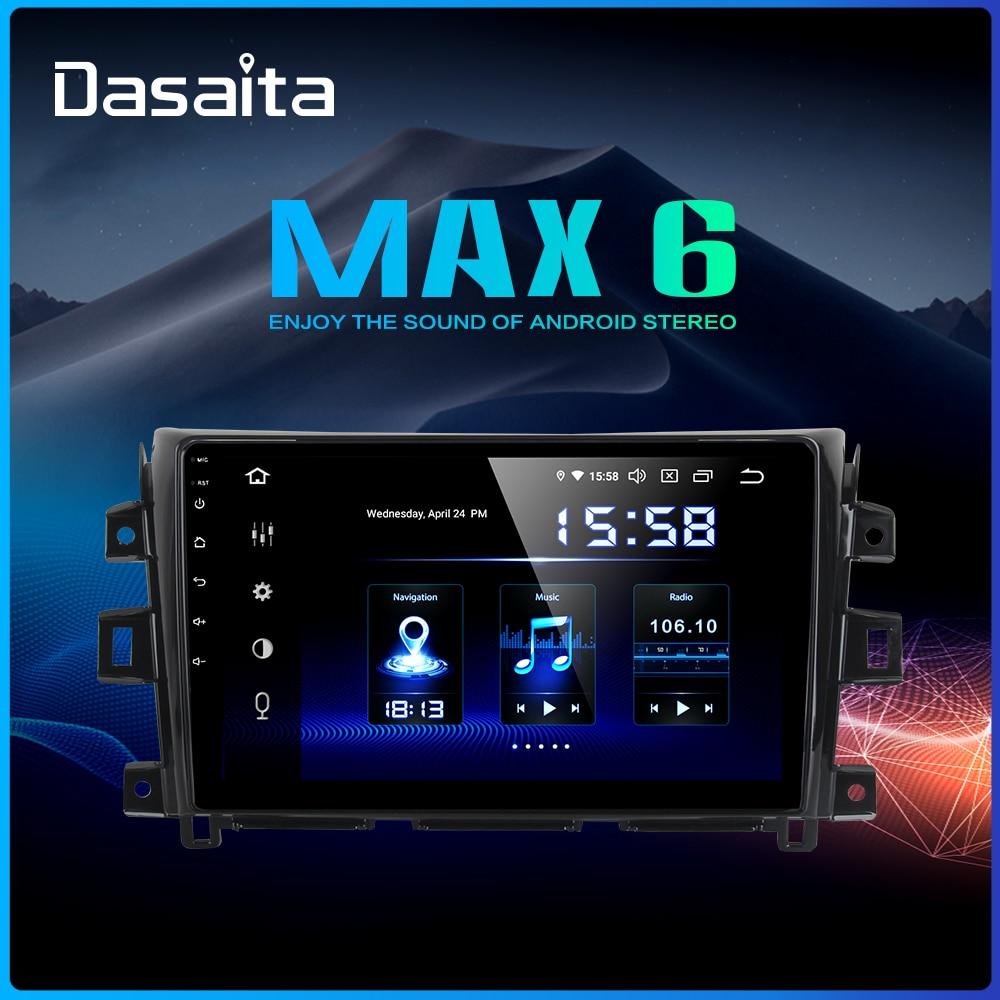 Dasaita 10 2 IPS Multi Touch Screen Car Multimedia Android 9 0 for Nissan Navara Radio