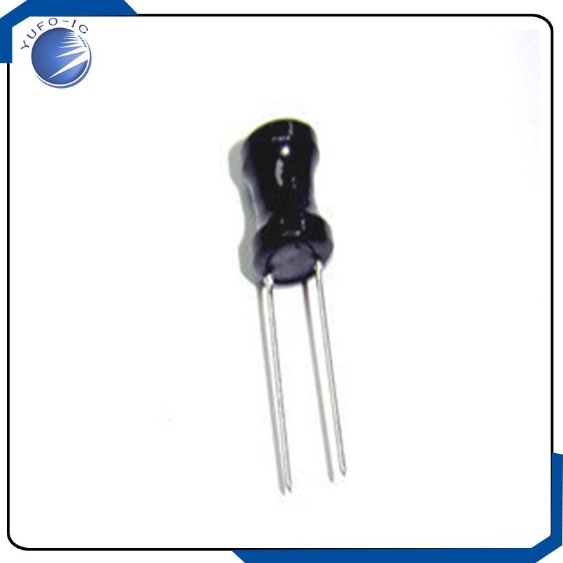 5 teile/los 8*10mm 150UH inductor magnetic core induktivität dip 8*10 magnetische induktivitäten spule draht wicklung 8X10MM 150 uh