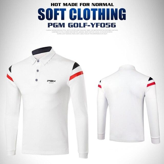 b75385ca6 PGM Mens Winter Spring Autum Golf Apparel Workout Shirt