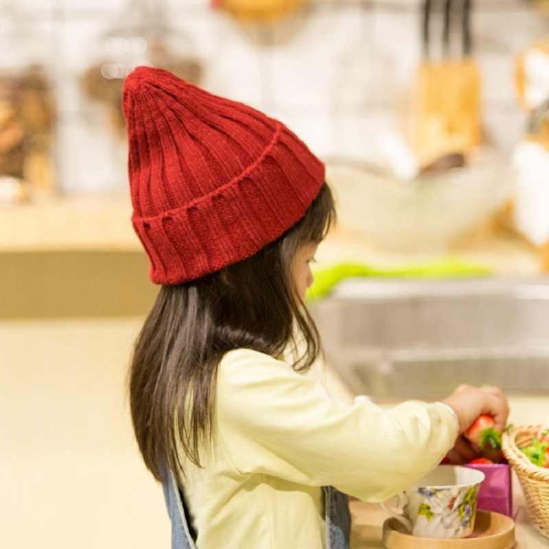 11 สีฤดูใบไม้ร่วงฤดูหนาวถักโครเชต์หมวกเด็กหมวกเด็กหมวกเด็กหมวกหมวกเด็กหมวกเด็กใหม่หมวกเด็กหมวกเด็ก KF996