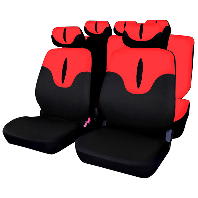 Auto Car Seat Covers Protector Universal Fit AUTOYOUTH Car Accessories Interior Airbag Compatible Red Color For Lada Largus