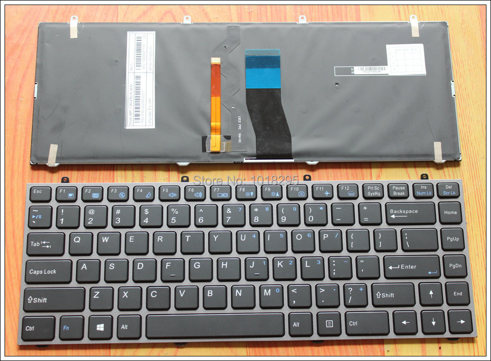 NEW Keyboard for Hasee K350C K350S For Clevo W230ST W230SS W230SD black laptop keyboard MP 13C23USJ430