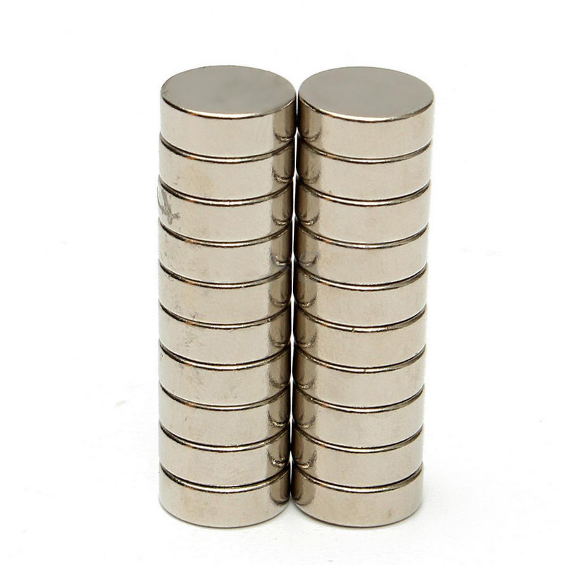 20PCS Men Collar Stays Round Disc Magnets Rare Earth Neodymium Replacement Magnet For Me ...