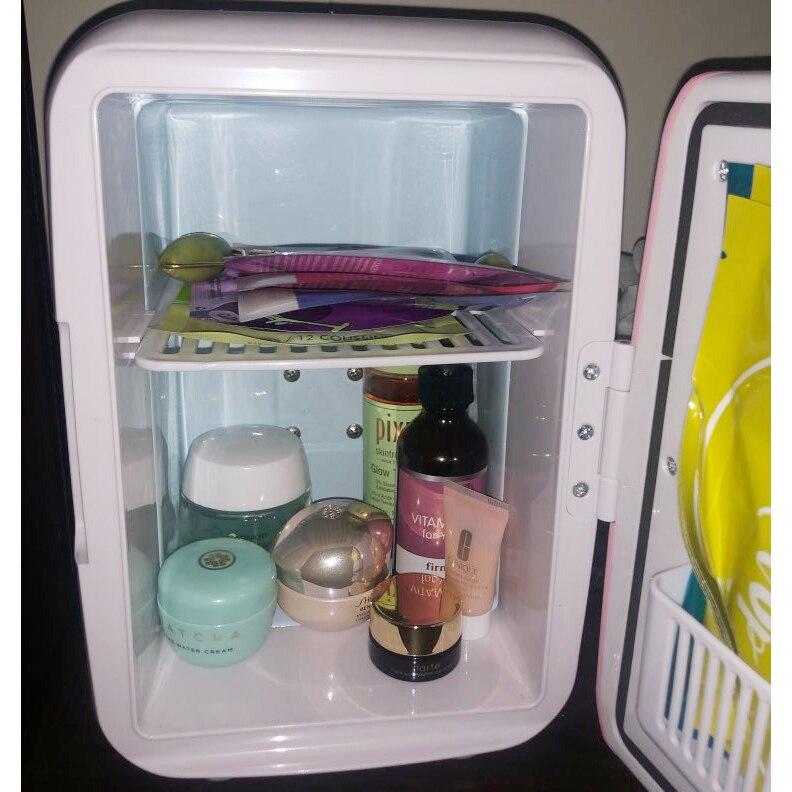 Use-Refrigerators Freezer Fridge Cooling Mini Home Car 220V 12V 4L Heating-Box Dual-Use