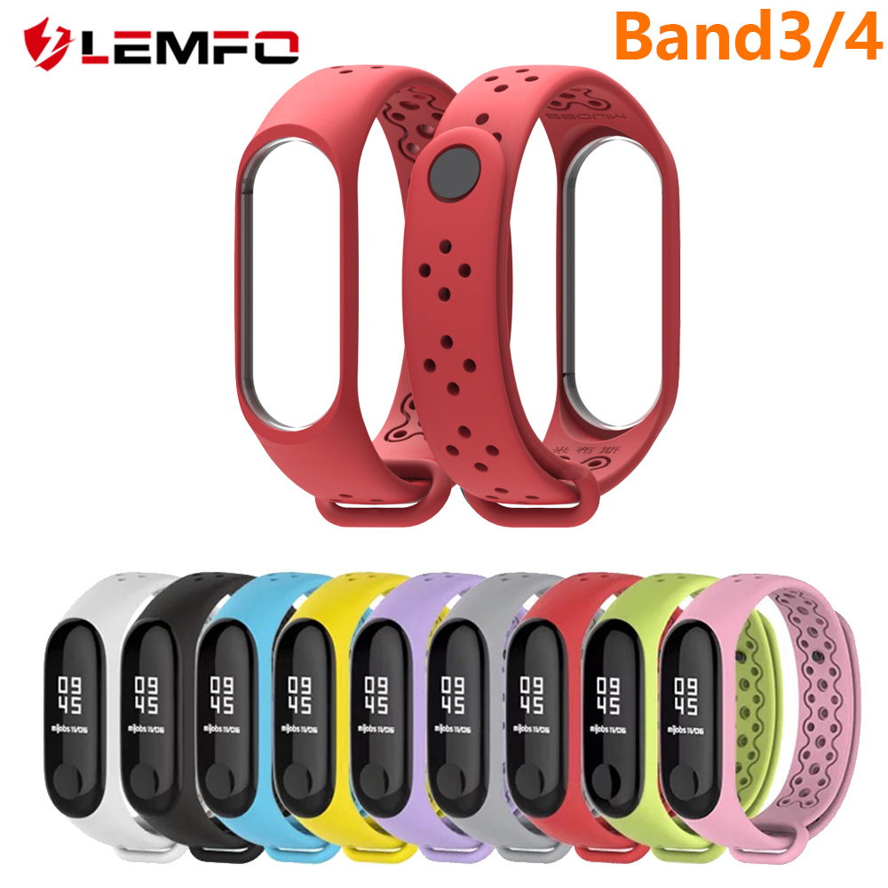 LEMFO Bracelet Xiaomi Band Smart-Accessories 4-Strap Silicone 3-Band4 Sport Waterproof