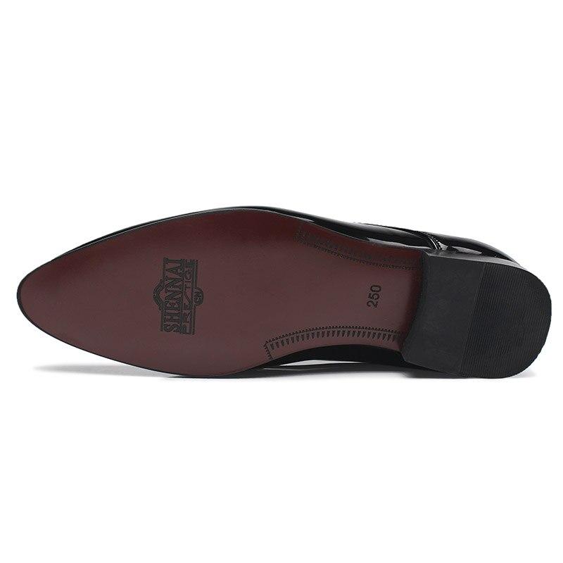 Cuir 38 De white En Robe red Taille 2018 Qualité Blue mazarine Noir Zapatos Homme Hommes 47 Hombre Verni Block Nouvellement Souple Chaussures xEa1qP1Xw