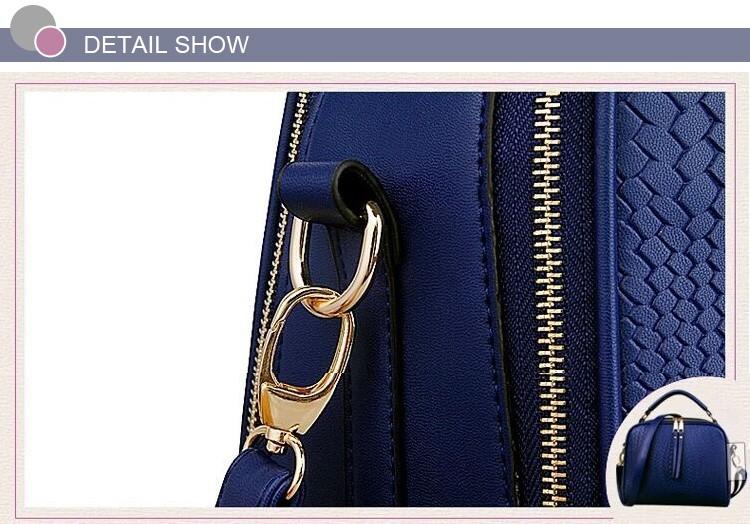 2015 Autumn New Arrival Women Weave Tassel Women PU Leather Handbags Women Shoulder Bag Ladies Casual Messenger Bags BH1150 (14)