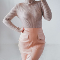 Half A Turtleneck Render New Winter Long Sleeve Cultivate One S Morality Shirt More Female Big