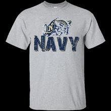 2018 Fashion Short Sleeve Black T Shirt Youth Round Collar Customized T-Shirts United States Navy Logo  Ultravintage Tee Shirts title mma logo tee white youth xl