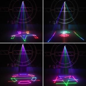 Image 5 - بطاقة SD للأجنبي 500mW RGB DMX للصور المتحركة عارض إضاءة ليزر للمسرح ديسكو DJ للحفلات والنوادي والحفلات الموسيقية تأثير احترافي