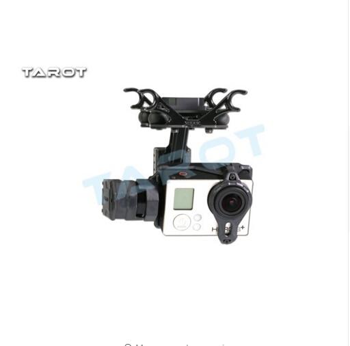 F17383 Tarot T2-2D cardan sans brosse à 2 essieux pour Gopro Hero 4/3 +/3 TL2D01 FPV cardan