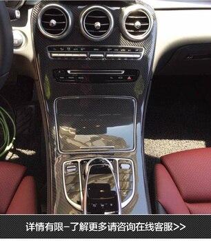 Fit for Mercedes-Benz C C180L C200L GLC260 GLC  carbon fiber Interior controls