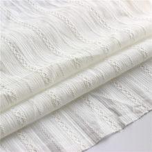 Meio metro tecidos jacquard pequeno para costurar o pano tissus material tela tilda boneca tecidos de algodão para retalhos branco d30