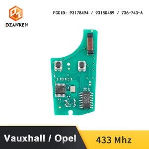 Image 5 - Fernbedienung Auto Schlüssel Abdeckung für Opel Astra H Zafira B/Vauxhall mit Transponder Chip & Uncut DIY Klinge 433 mhz Opel Astra Auto Schlüssel Anzug