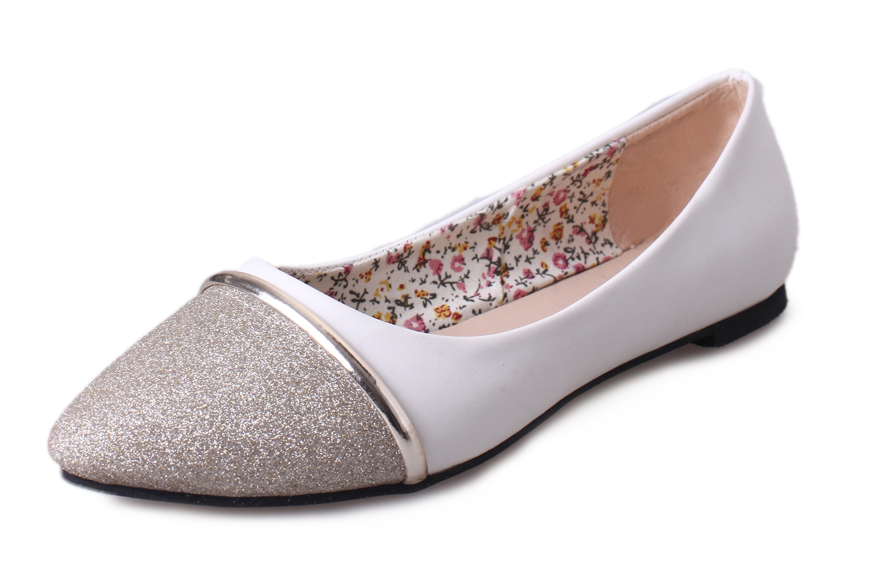 New Spring Autumn Fashion Women Flats Pointed Toe Lazy Slip On Mixed Colors Female Shoes White Plus Gold Silver Black new spring autumn women shoes pointed toe high quality brand fashion ol dress womens flats ladies shoes black blue pink gray