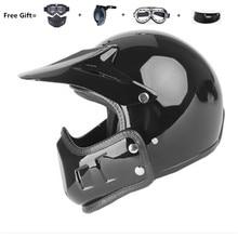 Free Shipping & 4 gift new motorcycle helmet mens moto helmet top quality capacete motocross off road motocross helmet DOT все цены