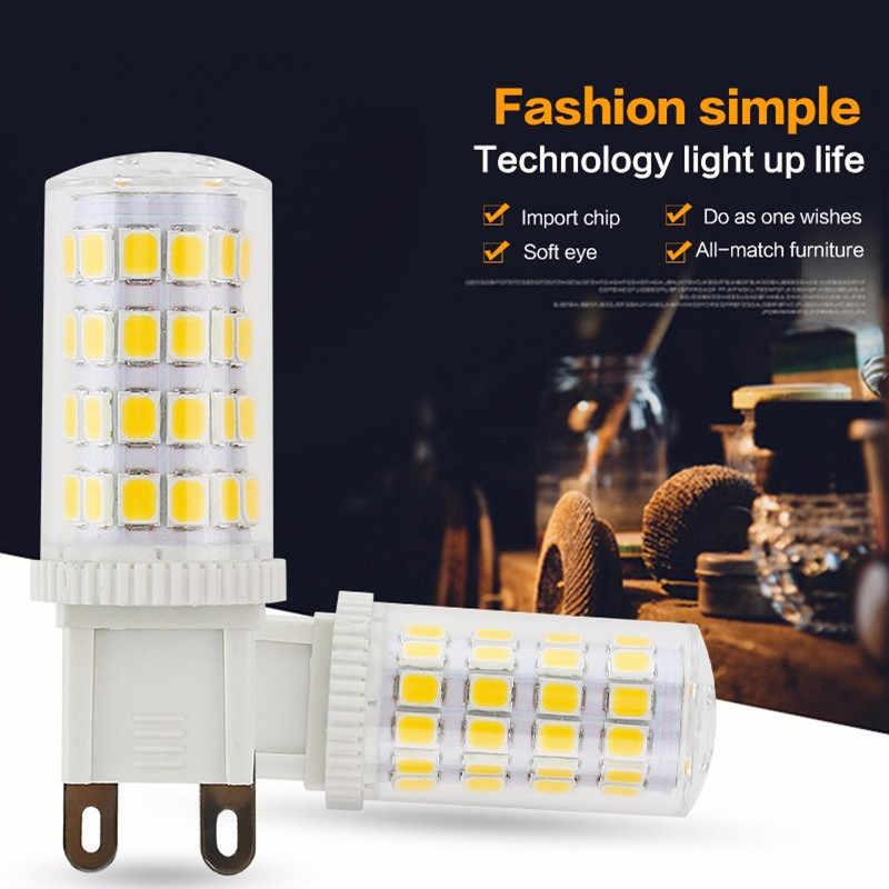 Keramik Dimmable Mini LED G9 Lampu G4 Lampu LED E14 Bulb 220V 12V Lampu LED G9 7W 9W 10W 12W Tongkol SMD 2835 2508