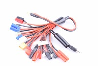 18 in 1 RC Charging Adapters Banana Plug battery Charger Adapter lead wire with 18 different plugs