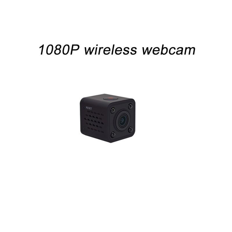 2018 new mini 1080P HD 150 - degree wide Angle WIFI camera Network camera webcam with night vision function Built-in WIFI rx198 5 0 mega pixel hd web pc camera webcam built in led light with 360 degree rotating function support voice call
