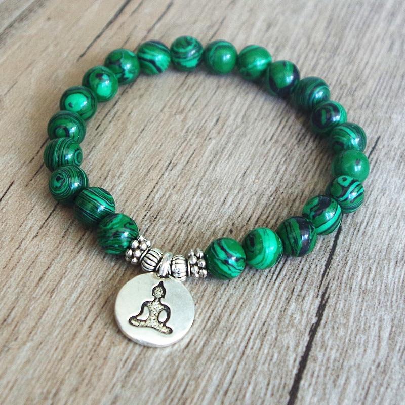Malachite Mala Bracelet 3