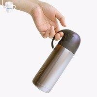 350 ml דליפת נירוסטה הוכחה קריקטורה חדשני קיר בידוד כפול ואקום אטום בקבוק מים בקבוק ריק תרמוס