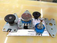 1pcs/lot RVQ24YNC0305 20F B502 360 degree turn with gear 5K potentiometer