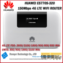 Original New Unlock Huawei E5770S-320 150Mbps 4G LTE Mobile WiFi Router With RJ45 Port USB Port And Power Bank Function
