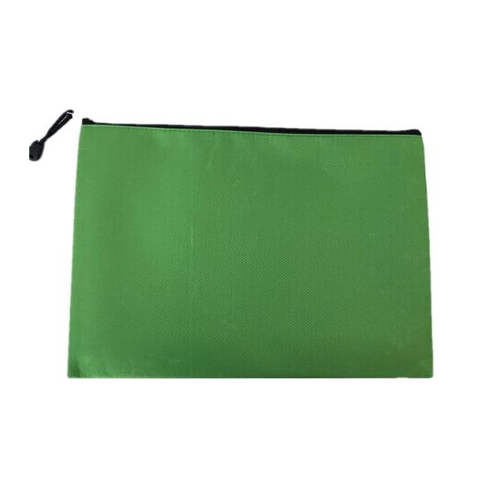 SCLL Hot Bai Ju Oxford Waterproof Information Office File File Bag Stationery Bag A4 Color: Green ...