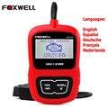 Multi-idiomas de Diagnóstico Auto OBD2 Escáner Herramienta Foxwell NT200 Analizador Del Motor Lector de Código Mejor Que del olmo 327 v1.5 Español