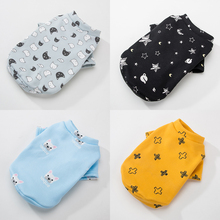 Hipidog Spring Autumn Pet Clothes Fashion Keep Warm Dog Printed Costume Small Dog Kitten Coat for Chihuahua Yorkshire Teddy Cat