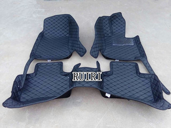 Good quality! Custom special car floor mats for Right Hand Drive Toyota Hilux Vigo 2014-2005 waterproof carpets,Free shipping
