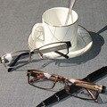 Laura Fadas Óculos Armações para Os Homens do Estilo do Negócio dos homens do Bloco da Cor de Aço Inoxidável e Templo Flexível Óculos de Armação