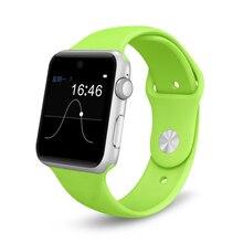 2016 Bluetooth Smart Uhr 2.5D ARC HD Bildschirm MTK2502C-ARM7 Unterstützung SIM Smartwatch Für IOS Android PK K88H DM09 NO. 1 D5