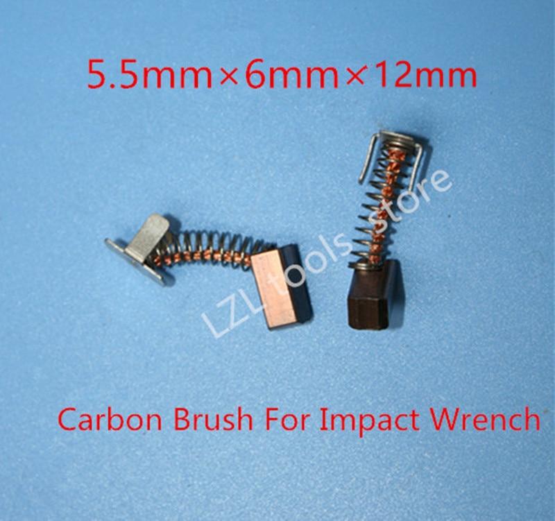 4PCS Carbon Brushes  Replace For BOSCH 18V 14.4V GDR18V-LIMF GDR14.4V-LI MFGDS18V-LI IWH181 GDS18V-LI