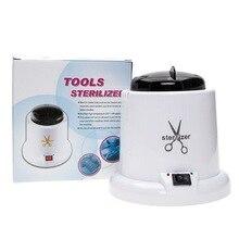 High Temperature Professional Sterilizer & Disinfection Box for Steel Metal Nipper Tweezers Manicure Clean Tools Pot Nail Art
