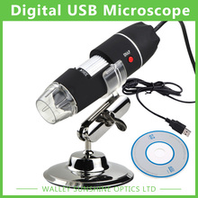 Cheap price Free shipping 50-500X HD Digital USB Microscope Handheld Magnifier USB microscope with 8 LED light