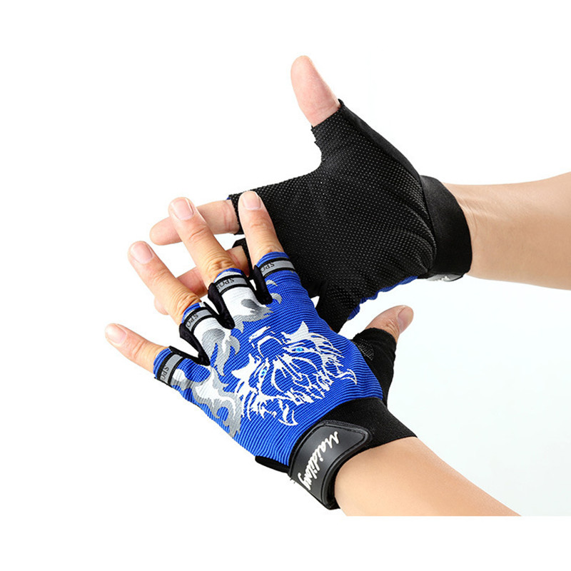 Nuevos guantes de deporte para niños Guantes con estampado de lobo - Accesorios para la ropa - foto 3