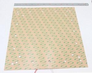 """Image 5 - كينوفو سخان سيليكون الوسادة 508x508 مللي متر (20 """"x 20"""") ل Creality CR 10 S5 طابعة ثلاثية الأبعاد السرير ث/ثقوب المسمار ، لاصق دعم و الاستشعار"""