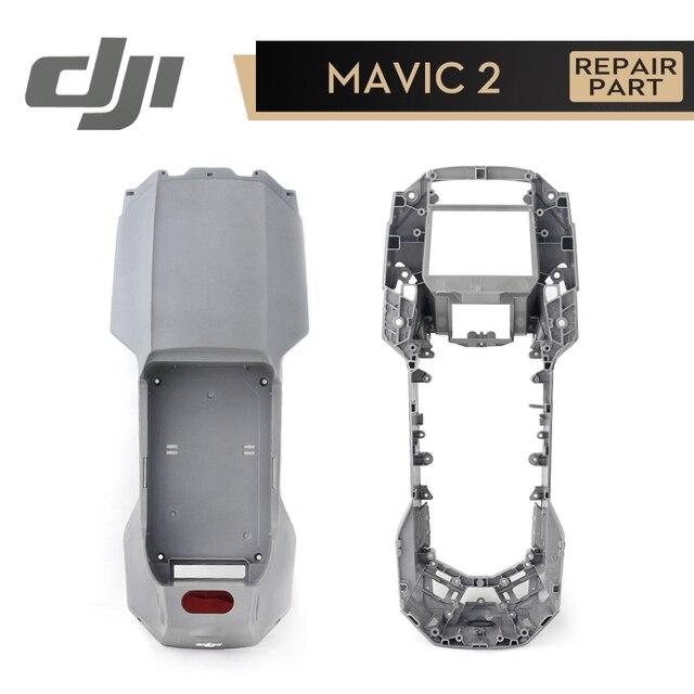 DJI Mavic 2 Pro Zoom vücut kabuk alt kabuk üst kabuk kapak modülü onarım parçaları Mavic 2 aksesuarları orijinal