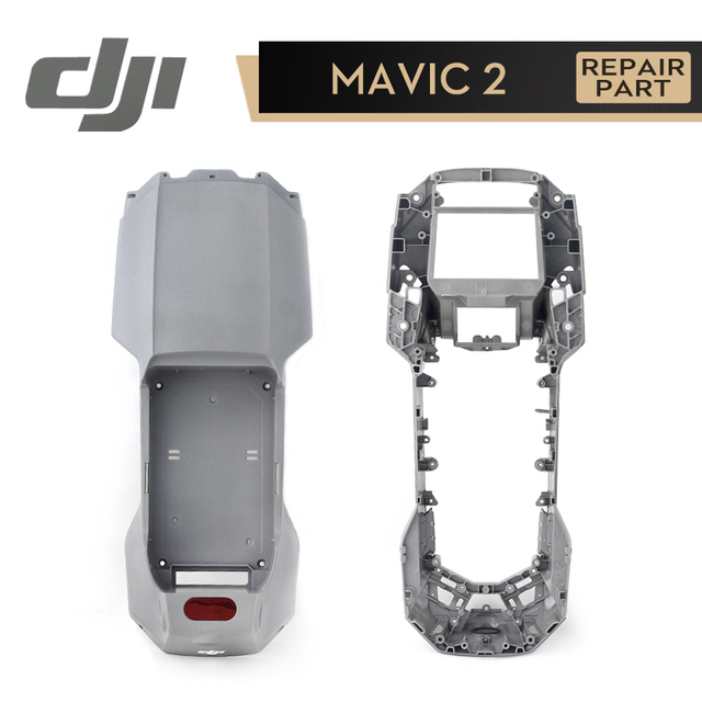 DJI Mavic 2 Pro Zoom корпус Нижняя оболочка верхняя крышка модуль запасные части для Mavic 2 аксессуары Оригинал