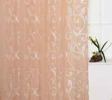 2018 Hot Sales Bubble Pattern Window sheers Home Decor Curtain Cut Flowers tulles 1pc