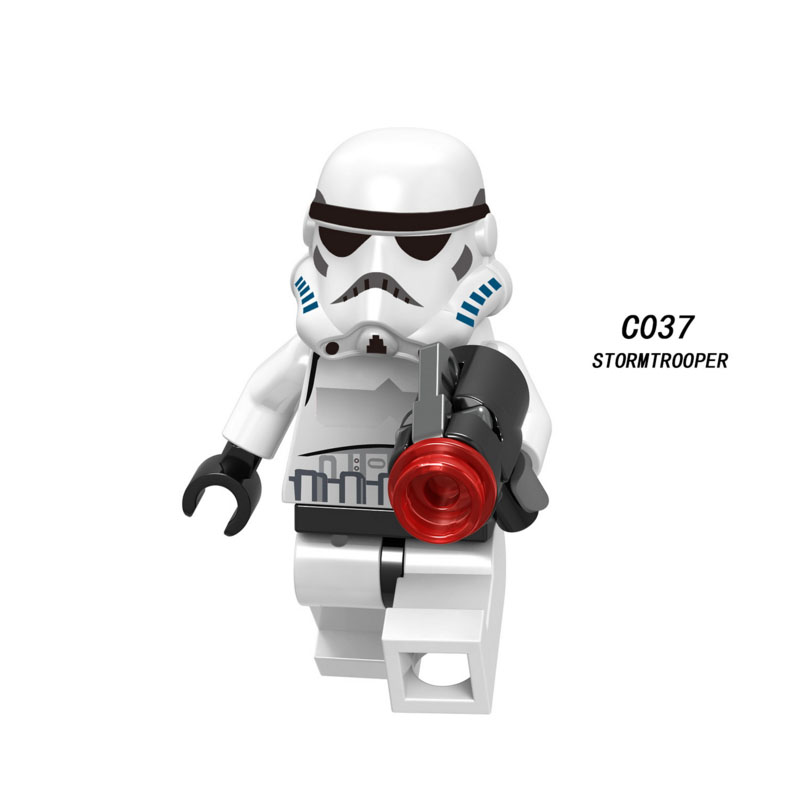 Single Sale Super Heroes Star Wars Stormtrooper 037 Model Building Blocks Figure Bricks Toys Kids Gift Compatible Legoed Ninjaed
