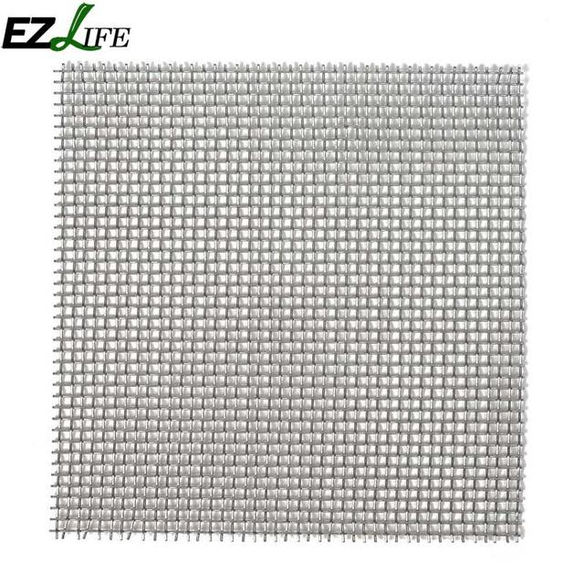EZLIFE Aquarium Fish Tank Stainless Steel Wire Mesh Pad Plants Moss ...