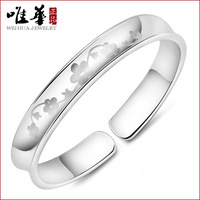 The Only Chinese Jewelry Manufacturers Wholesale Supply Copper Plating Plum Emotion Bracelet Taobao 925 Sterling Silver